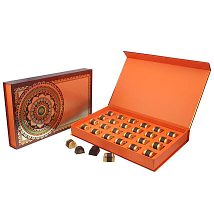 Flavoured Chocolate in Premium Box- 24 Pcs: Janmashtami Gifts
