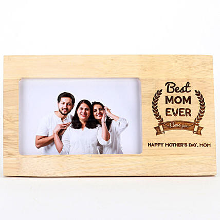 Best Mom Ever Photo Frame for Mother's Day: