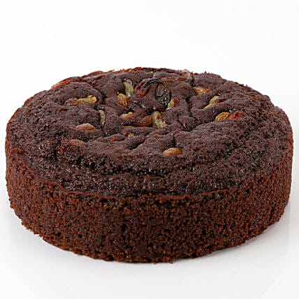 Healthy Sugar-Free Chocolate Dry Cake- 500 gms: Send Plum Cakes