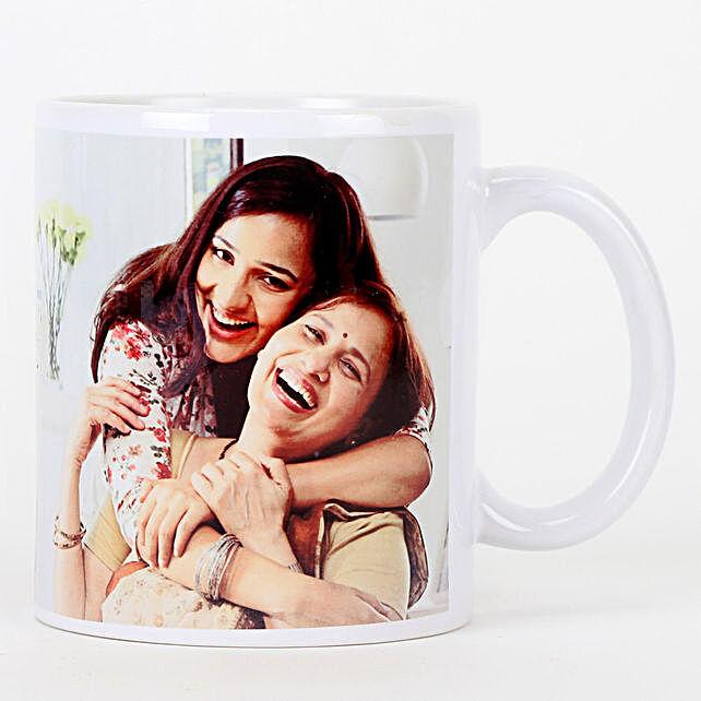 Personalised White Ceramic Mug For Mom: Coffee Mugs