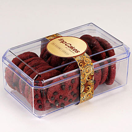 Red Velvet Cookie Box: Send Gourmet Gifts