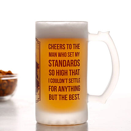 Personalised Foster Beer Mug For Dad: Personalised Lamps