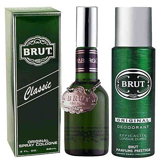 Brut Original Perfume & Deo Spray Combo: Send Perfumes