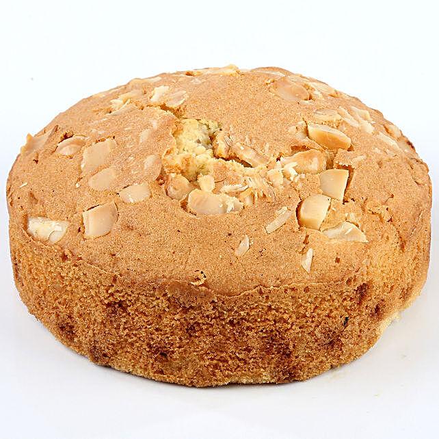 White Chocolate Macadamia Dry Cake- 500 gms: Dry Cakes