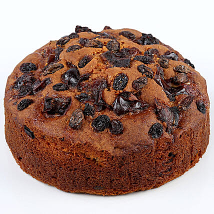 Dates & Raisins Dry Cake- 500 gms: Send Plum Cakes