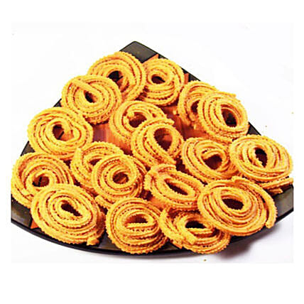 Masala Butter Chakli Pack- 300 gms: Gifts for Onam