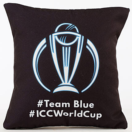Team Blue ICC World Cup Cushion: