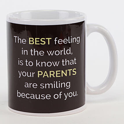 Make Your Parents Smile Mug: Unusual Gifts