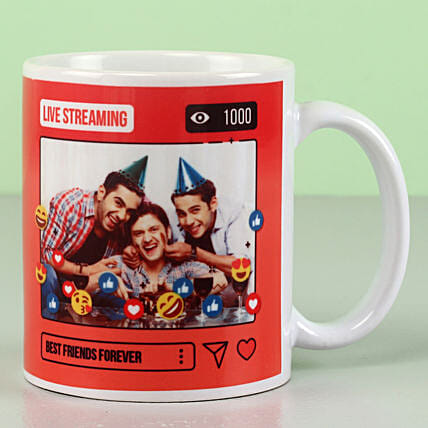 Personalised Best Friends Forever Mug: Gifts for Friend