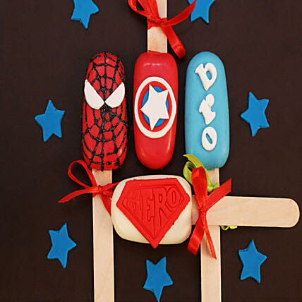 Avengers Special Cakesicles For Bro: