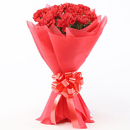 Red Delight: Flower Bouquets