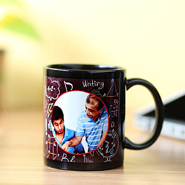 Customsied Picture Mug For Teacher: Custom Photo Coffee Mugs