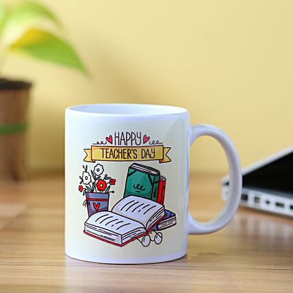 Happy Teacher's Day Mug: Gifts for Teachers Day