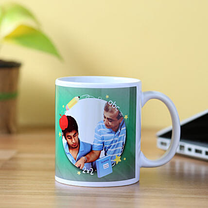 Special Personalised Mug For Teacher: Gifts for Teachers Day