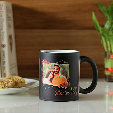 Classic Black Personalised Magic Mug: Buy Coffee Mugs