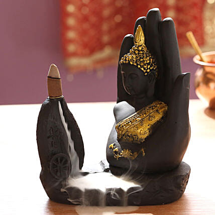 Lord Buddha Incense Burner: Buddha Collection