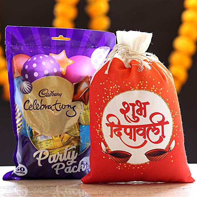 Cadbury Celebrations & Deepavali Gunny Bag:
