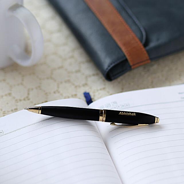 Personalised Rollerball Pen: Personalised Stationary