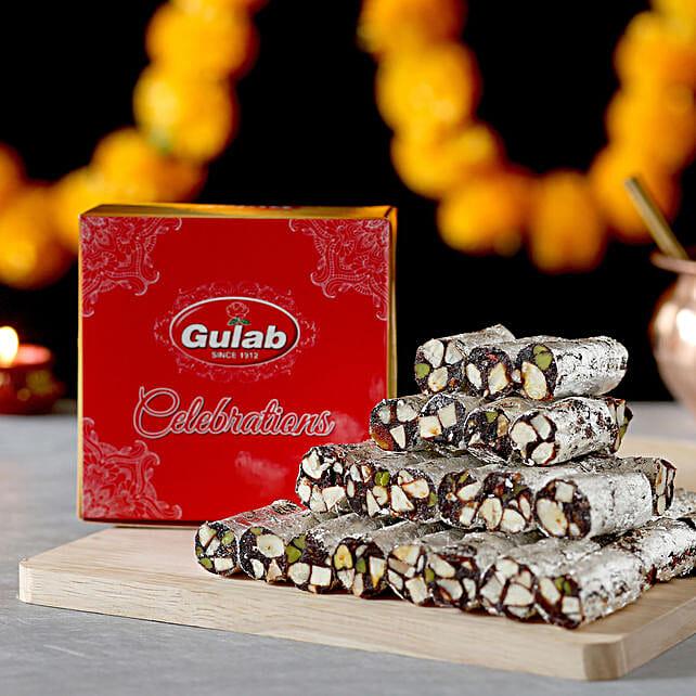 Khajur Roll Box: Bhai Dooj Sweets
