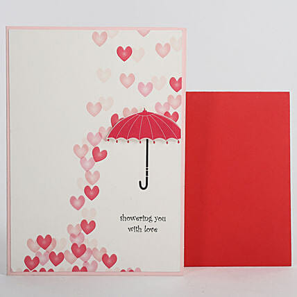 Love Umbrella Greeting Card: Greeting Cards