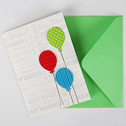 Happy Birthday Balloon Greeting Card: Send Gifts to Patna