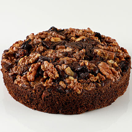 Dry Cake With Dates & Walnuts: Cakes Delivery India