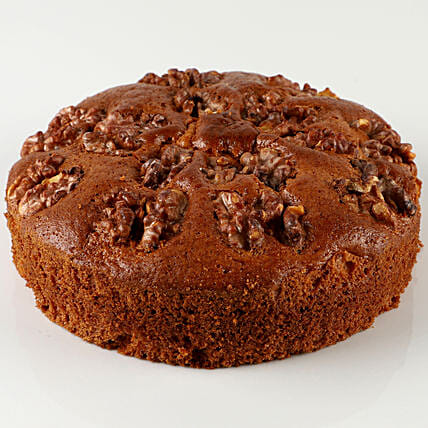 Walnut Dry Cake- 500 gms: Send Plum Cakes