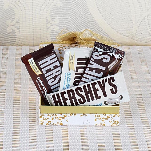 Hershey's Chocolate Bar Gift Box: Hersheys Chocolates