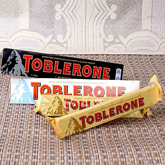 Swiss Chocolate Toblerone Treats: Wedding Gifts