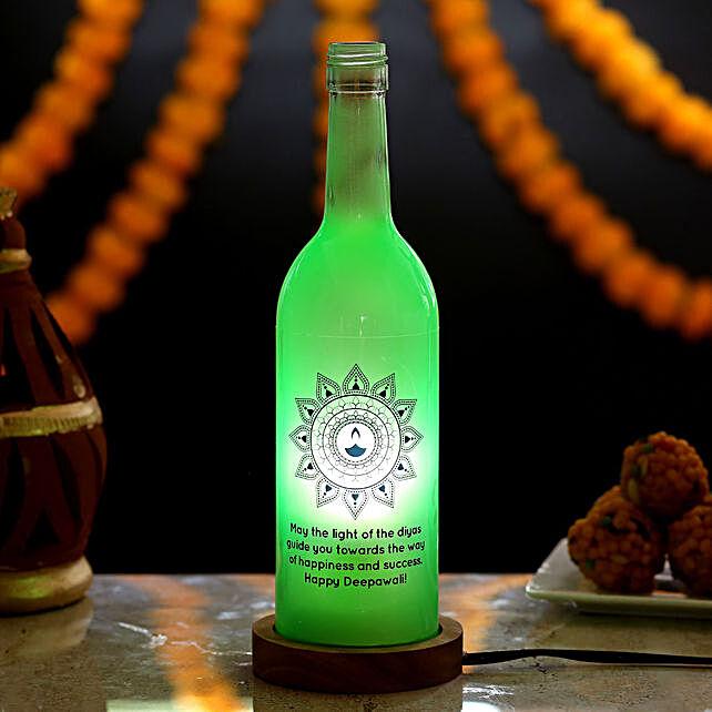 Festive Diwali Bottle Lamp: Send Diwali Gifts for Boss