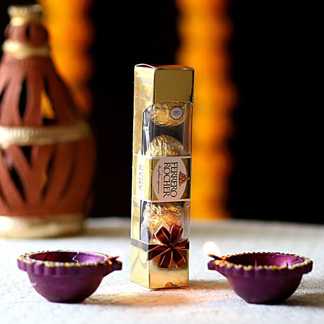 Purple Diyas Ferrero Rocher Treat: Ferrero Rocher Chocolates