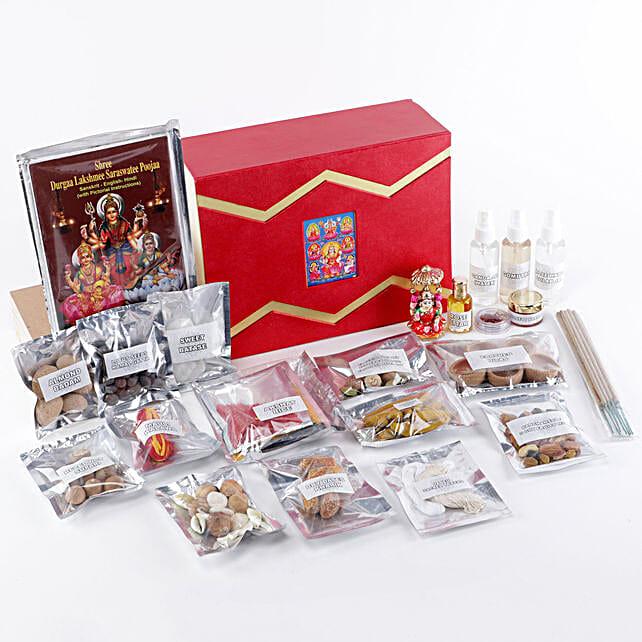 Goddess Lakshmi Pooja Box: Pooja Boxes