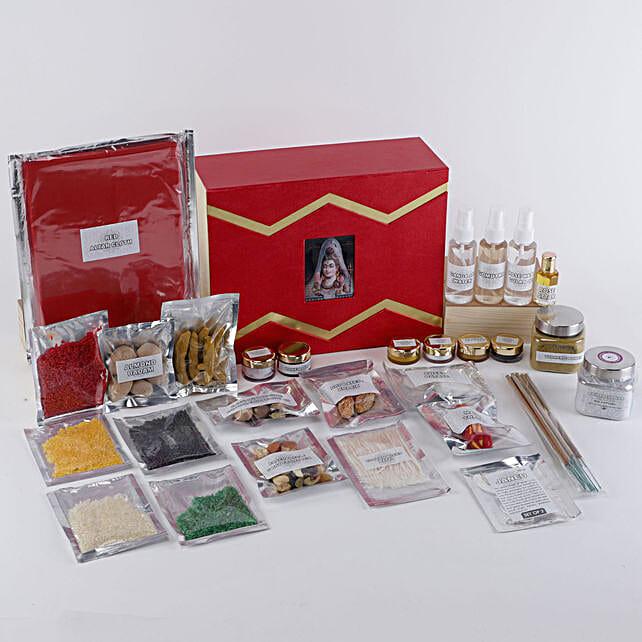 Lord Shiva Pooja Box: Pooja Samagri Boxes
