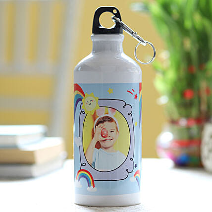 Personalised Rainbow Water Bottle: Children's Day Gifts