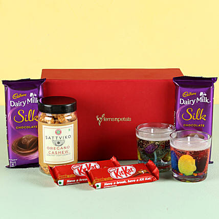 Oregano Cashews & Chocolates: Combo Gifts