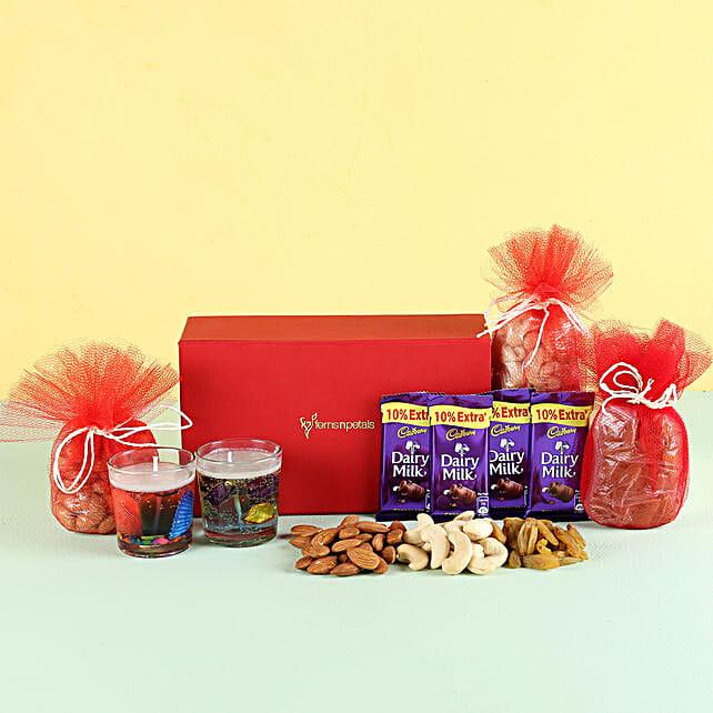 Aroma Candles & Treats: Diwali Gifts