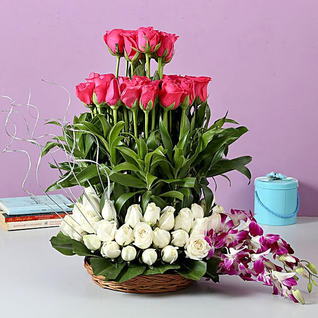 The Sweet Surprise: Premium Flowers