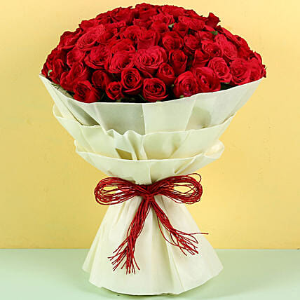 Authentic Love 100 Roses: Send Roses