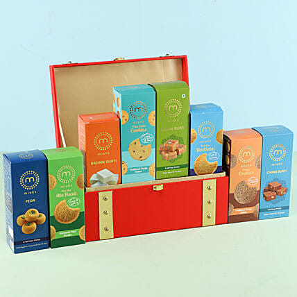 Mithai Cookies Misht Gift Box: Gift Hampers