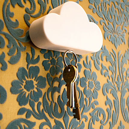 Magnetic Cloud Key Holder: Funny Gifts