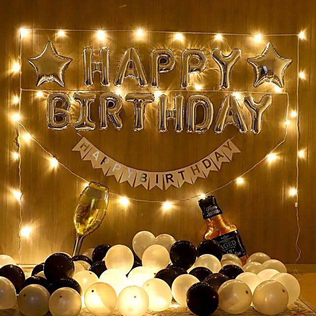 Dazzling Birthday Surprise: Balloon Decorations