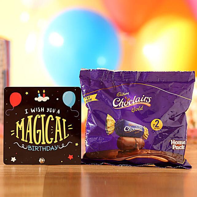 Chocolairs Birthday Wishes: