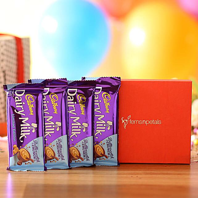 Dairy Milk Butterscotch Box: Cadbury Chocolates