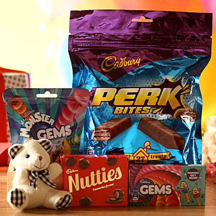 Teddy Bear Cadbury Treats: Soft Toys Gifts