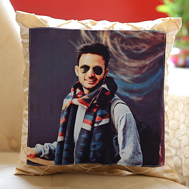 Personalised Satin Silk Cushion: Cushions