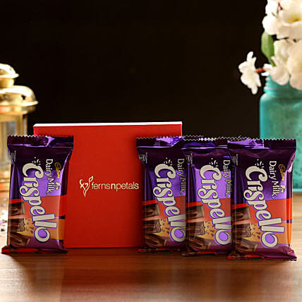 Crispello Chocolate Bars Box: