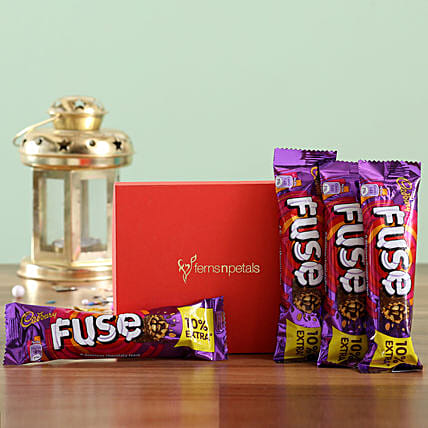 Fuse Chocolate Bar Box: Cadbury Chocolates