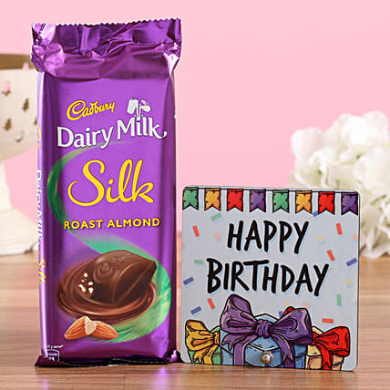 Silk Almond Birthday Wishes: Combo Gifts