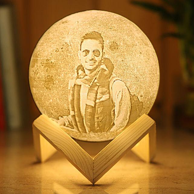 Personalised Moonlight Lamp For Him: