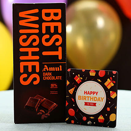 Best Wishes Chocolate On Birthday: Gifts to Pilibhit